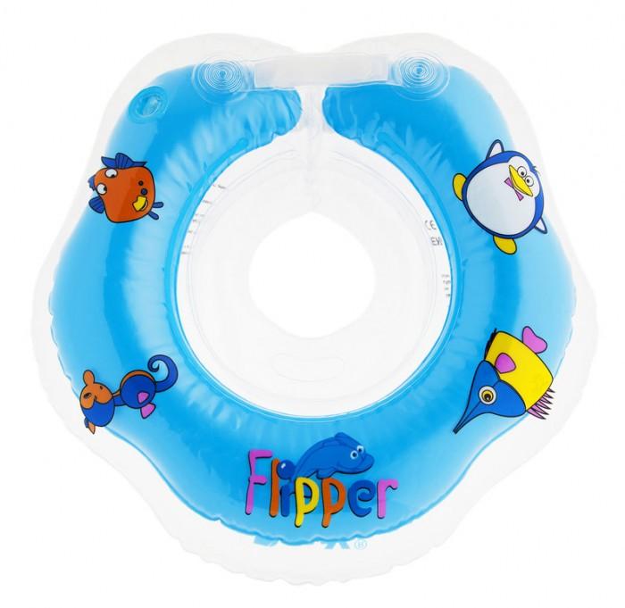 Круг для купания Roxy Flipper на шею для новорожденных