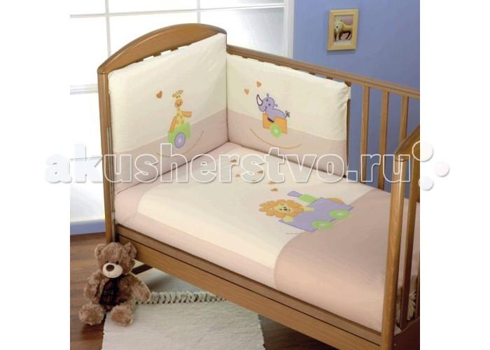 Комплект для кроватки Feretti Safari Sestetto (6 предметов)
