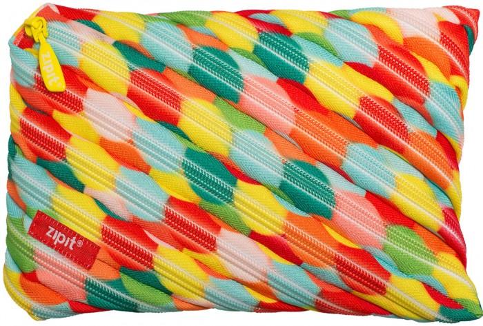 Zipit Пенал-сумочка Colors Jumbo PouchПенал-сумочка Colors Jumbo PouchZipit Пенал-сумочка Colors Pouch удобен для разных мелочей и для пишущих принадлежностей. Изготовлен из 1 длинной молнии.    Размер: 23х2х15 см<br>