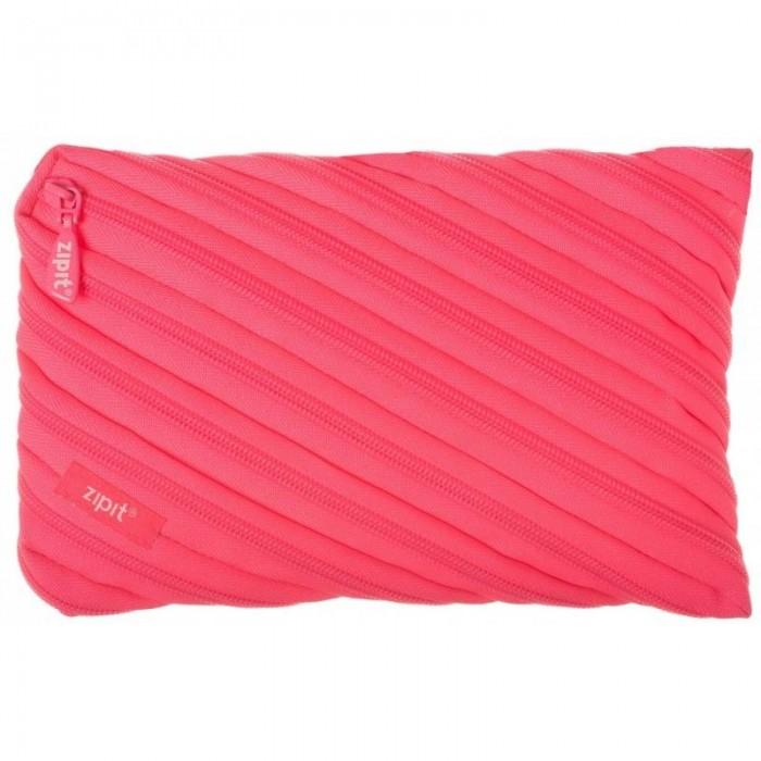 Zipit Пенал-сумочка Neon Jumbo PouchПенал-сумочка Neon Jumbo PouchZipit Пенал-сумочка Neon Jumbo Pouch удобен для разных мелочей и для пишущих принадлежностей. Изготовлен из 1 длинной молнии.    Размер: 23х2х15 см<br>