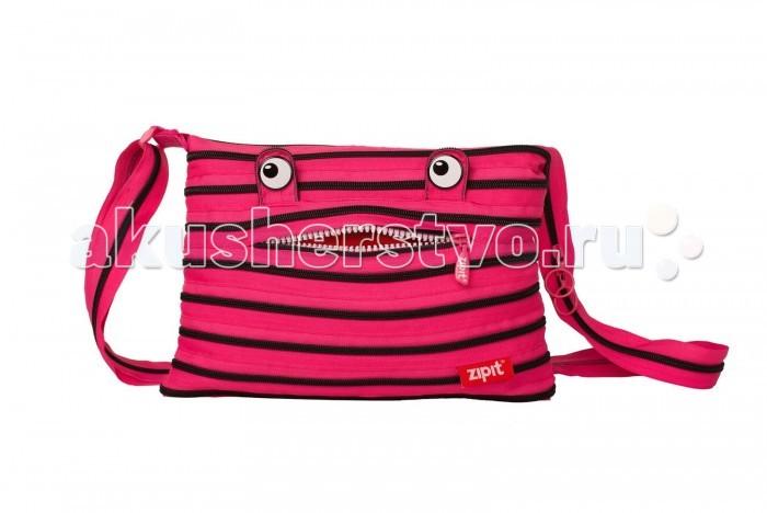 Zipit Сумка Monster Shoulder BagСумка Monster Shoulder BagZipit Сумка Monster Shoulder Bag   Особенности: Конструктивные особенности - одна длинная молния, которая может быть полностью растегнута!   Стильная необычная сумка порадует девочек и девушек!  Регулируемая лямка через плечо, различные расцветки - каждый выберет для себя то, что хочется!    Размер: 27х3х23 см<br>