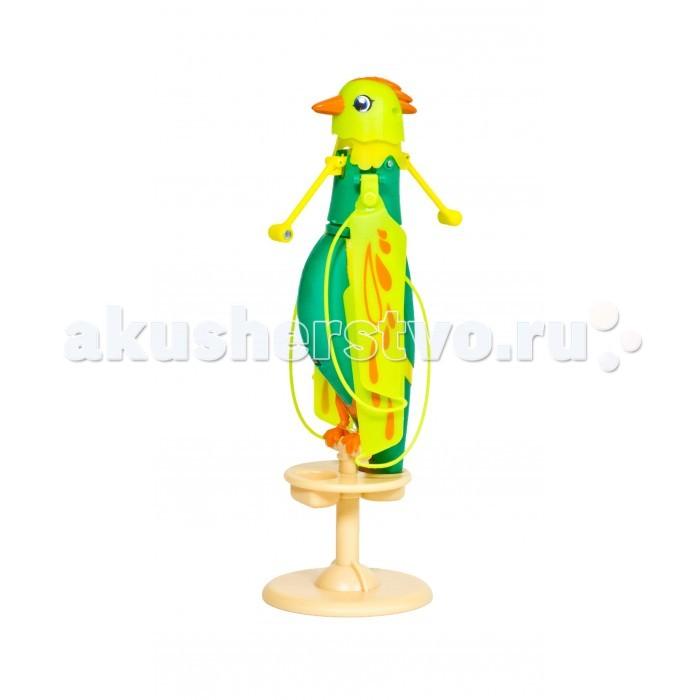 Интерактивная игрушка Zippi Pets Летающая птичкаЛетающая птичкаZippi Petso Летающая птичка - замечательная интерактивная игрушка как для мальчиков, так и для девочек Эта яркая, красивая птичка может стать настоящим верным другом для вашего ребенка Погладьте птицу по голове 1 раз и вы услышите ее звонкое пение, погладьте трижды - и она полетит!  Игрушка выполнена из легкого пластика и летает за счет пропеллера, механизм которого расположен вокруг ее шеи.  Высота птички составляет 12,5 см, в комплекте прилагаются удобная подставка-жердочка и USB кабель для подзарядки игрушки.  Возраст: от 5 лет<br>