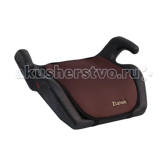 Бустер Zlatek BrigBrigДетское автомобильное кресло «Zlatek Brig» предназначено для детей от 6 года до 12 лет весом от 22 до 36 кг. Увеличенное посадочное место автокресла и специальная конструкция подлокотников обеспечивают комфорт ребенка во время поездки. Кресло имеет легкий вес, его легко установить в автомобиль, а при ненадобности - убрать в багажник.  Каркас автокресла изготовлен из ударопрочной ПНД-пластмассы. Износостойкий чехол сшит из гипоаллергенной ткани и легко снимается для стирки. В детском автомобильном кресле «Zlatek Brig» ваш ребенок будет путешествовать в безопасности и с удовольствием!  Особенности: специальная конструкция подлокотников для удобства ребенка в поездке увеличенное посадочное место обеспечивает комфорт ребенка в поездке износостойкий чехол легко снимается для стирки компактный размер - кресло занимает мало места при перевозке увеличенные бортики автокресла предотвращают смещение ребенка усиленный каркас сиденья изготовлен экструзионно-выдувным способом нетоксичный гипоаллергенный материал безопасен для ребенка соответствует правилам ЕЭК ООН № 44-04<br>