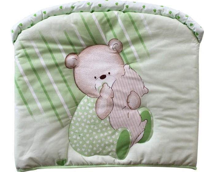 Бампер для кроватки Золотой Гусь Мишутка