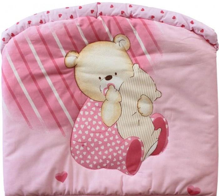 Бампер для кроватки Золотой Гусь МишуткаМишуткаБортик в кроватку не только придаст кроватке дополнительный уют, но и защитит Вашего малыша от сквозняков. Материалы и краски постельного белья отвечают всем экологическим нормам и абсолютно безвредны для здоровья ребенка.   Бампер Мишутка 360х40 см.  Ткань: хлопок 100%, наполнитель: холофан.   Рисунок ткани может отличаться от указанного на сайте.<br>
