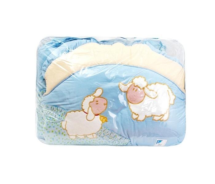 Комплект для кроватки Золотой Гусь Веселые овечки (7 предметов)