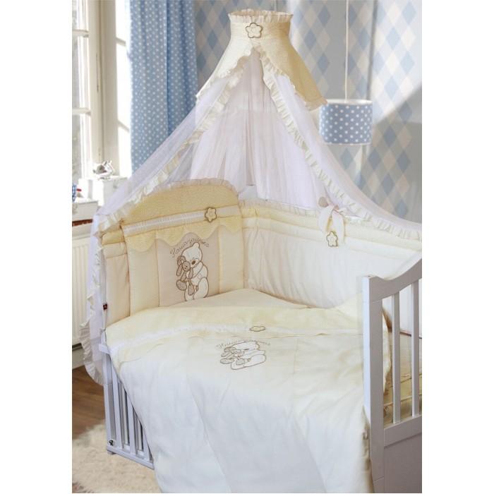 Комплект в кроватку Золотой Гусь Сабина (7 предметов)