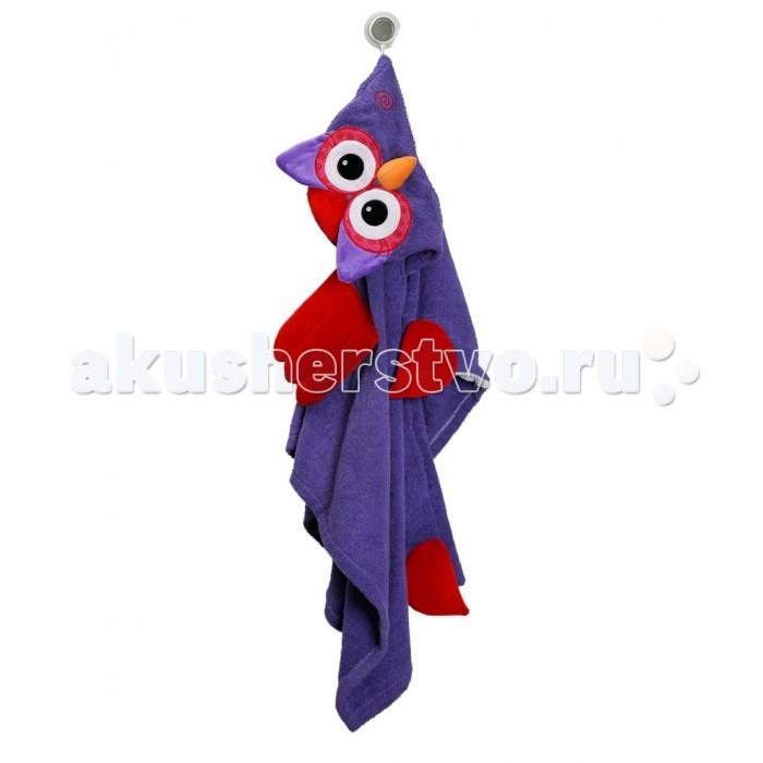 Zoocchini Полотенце с капюшоном для детей