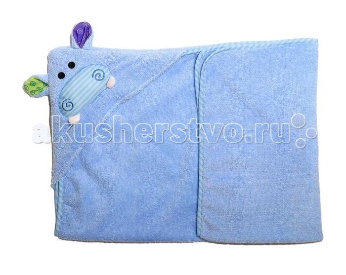 Zoocchini Полотенце с капюшоном для малышей