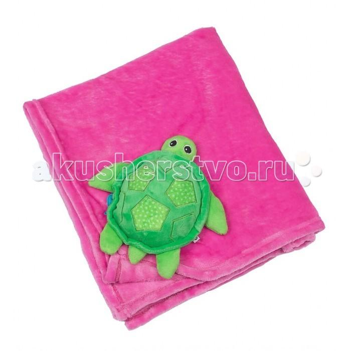 Одеяло Zoocchini С игрушкой
