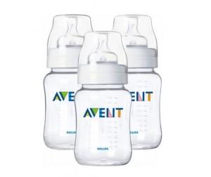 Бутылочка Philips-Avent для кормления 86200 3 шт. 260 мл