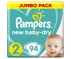 Pampers Подгузники New Baby Dry Mini р.2 (3-6 кг) 94 шт.