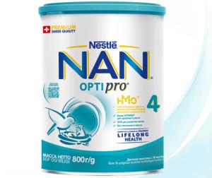 NAN Заменитель Премиум 4 с 18 мес 800 г