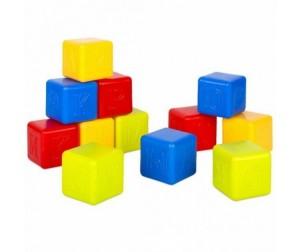 Развивающая игрушка Росигрушка Кубики Азбука 12 деталей в сетке