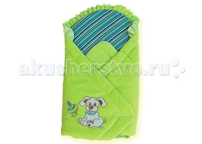 Демисезонный конверт Eko Плед для новорожденных Собачка 75х75