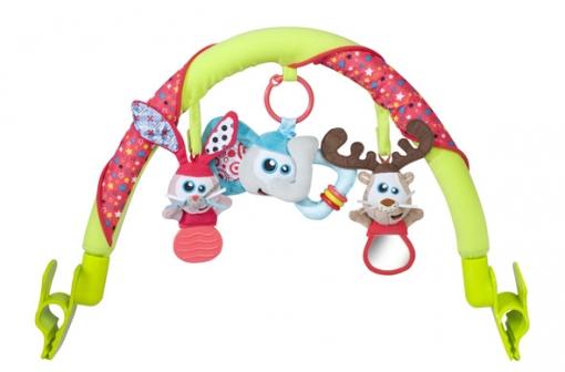 Babymoov Перекладина с игрушками на коляску, кресло Дуги для колясок и...