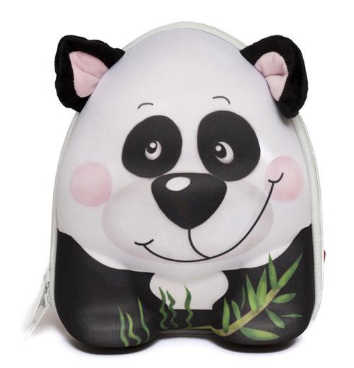 Стильный рюкзачок Wild Pack Панда с 3D дизайном в виде очаровательной...
