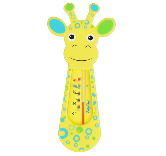Термометр для воды BabyOno Жираф желтый