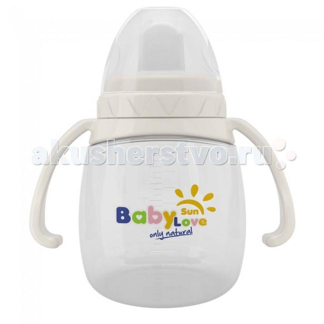 Поильник Baby Sun Love тренировочный с мягким носиком с 6 мес. 160 мл